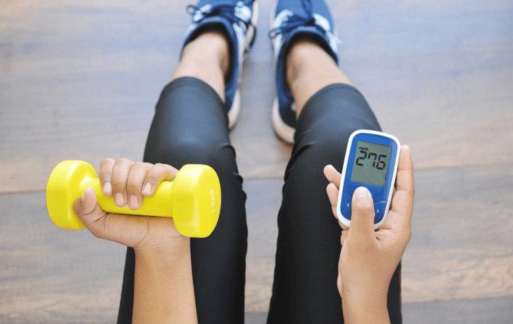 otot dengan diabetes tipe-1
